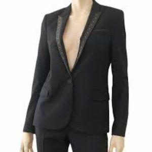 The Kooples Jackets & Coats - Kooples Black Studded Blazer